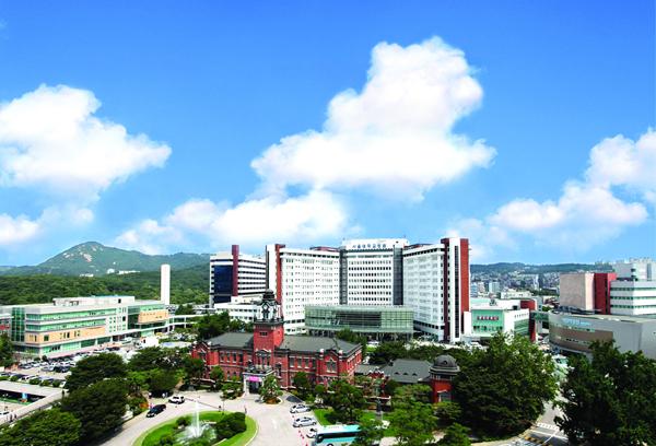 서울대학교병원 전경사진