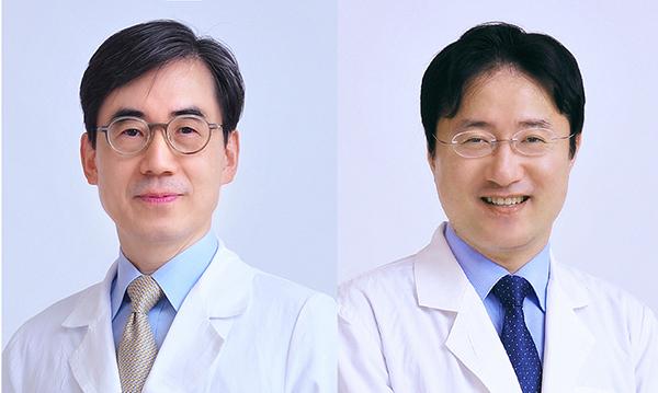 왼쪽부터) 김효수 양한모 교수