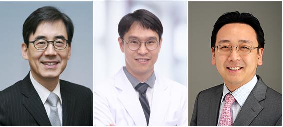 왼쪽부터 서울대병원 심혈관센터의 김효수,박경우,강지훈 교수