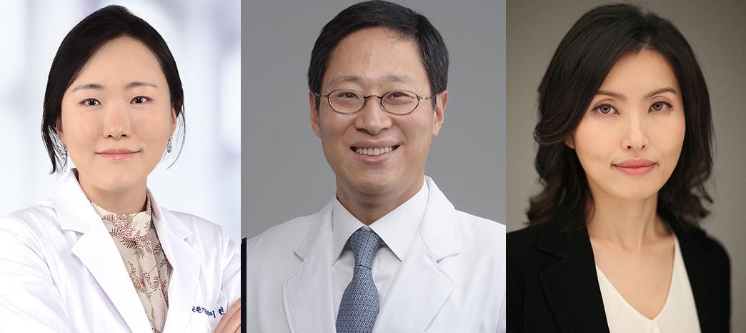 왼쪽부터) 이현정 이승표 박성지 교수