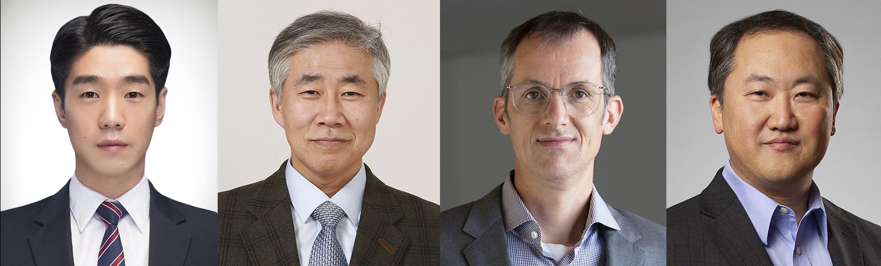 왼쪽부터) 김요나 백선하 페어락 찰스리