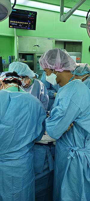 소아흉부외과 실습사진